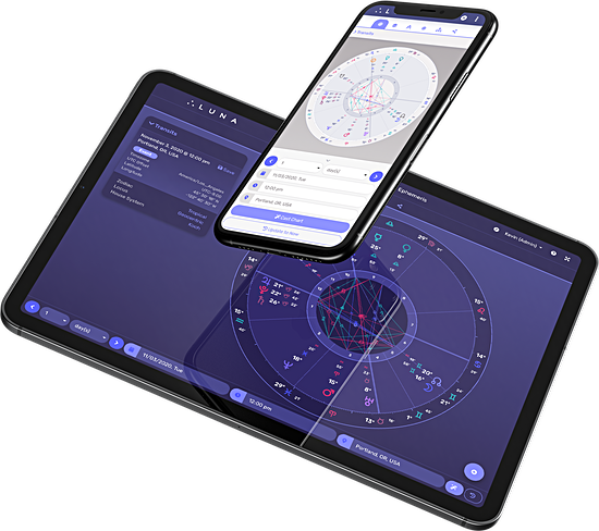 Image of LUNA on Phone & Tablet