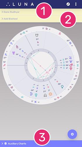 Transits Chart Layout